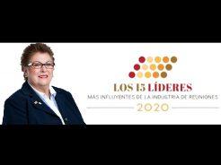 Elizabeth Tovar 15 leaders in the meetings industry of Latin America 2020
