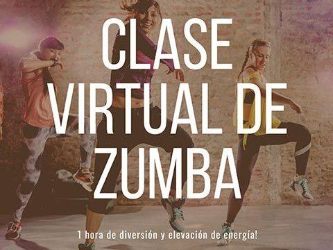 Clase de Zumba Virtual